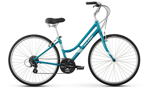"Raleigh Bikes Detour 3 Women's Comfort Bike, Teal, 15""/Small"