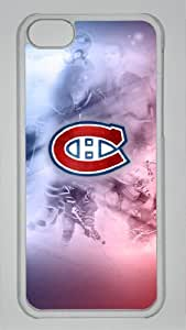 MONTREAL CANADIENS Custom PC Transparent Case for iPhone 5C by icasepersonalized