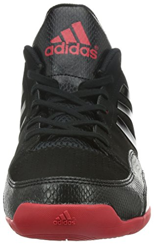 adidas Herren Basketballschuhe 3 Series 2015 core black/core black/scarlet 41 1/3