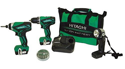 Hitachi-KC10DFL2-12-Volt-Peak-Cordless-Lithium-Ion-Driver-Drill-and-Impact-Driver-Combo-Kit-Lifetime-Tool-Warranty