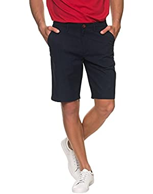 Men's Men's Medieval Blue Chino Shorts in Size 34 Blue