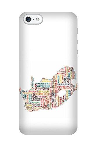 iPhone 4/4S Coque photo - Afrique du Sud Carte
