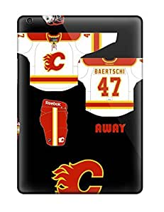 Snap-on Case Designed For Ipad Air- Calgary Flames (1)
