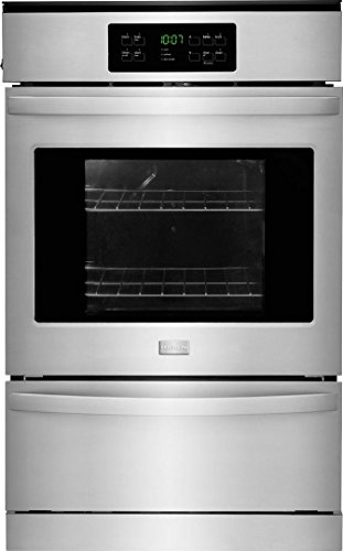 Frigidaire FFGW2425QS 24″ 3.3 cu. Ft. Capacity Gas Single Wall Oven with 2 Oven Racks, ADA Compliant, in Stainless Steel