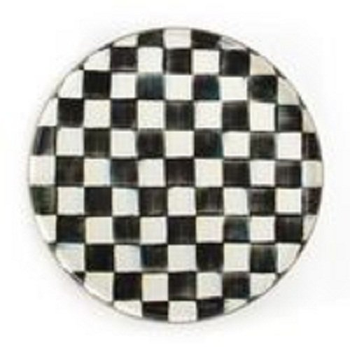 Courtly Check (MacKenzie-Childs Courtly Check Enamel Round Tray)