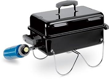 Weber Holzkohlegrill Richtig Heizen : Weber grill go anywhere black schwarz amazon garten