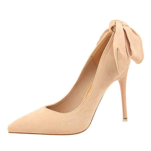 68e4ace1a3b LIANGXIE Women's Slip On Pointed Toe High-Heeled Shoes Ankle Strap Party  Dress Stiletto High