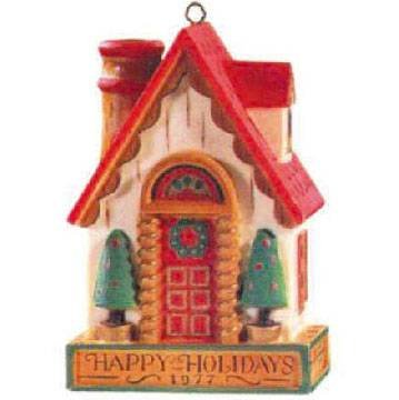 (House Yesteryears Series 1977 Hallmark Ornament)