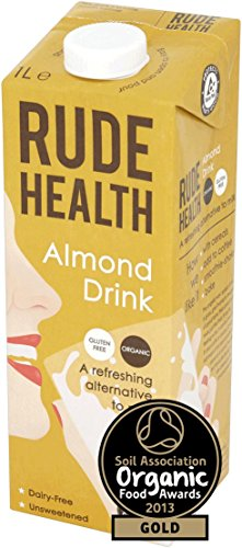 Amazon.com : Rude Health - Almond Drink - 1L (Case of 6) : Grocery & Gourmet Food