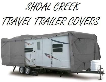SHIPPING INCLUDED SHOAL CREEK COMPANY 24-27 TRAVEL TRAILER COVER