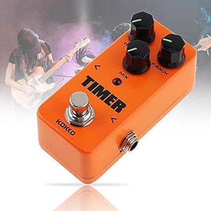 Amazon.com: V2AMZ KOKKO - Mini pedal de guitarra eléctrica ...