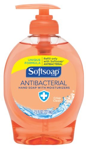 Softsoap Crisp Clean Antibacterial Liquid Hand Soap, 7.5 oz (Case of (7.5 Ounce Softsoap)