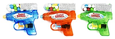 """Set of () - 5"""" Assorted Water Guns With Gumball Container! Perfect for Movie Night, Feild Trips, Road Trips and More!"""