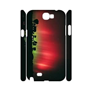 XOXOX Phone case Of Hyun Magic Aurora Cover Case For Samsung Galaxy Note 2 N7100
