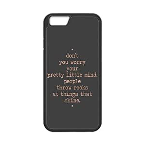 the Case Shop- Taylor Swift Quotes Singer TPU Rubber Hard Back Case Silicone Cover Skin for iPhone 6 4.7 Inch , i6xq-470