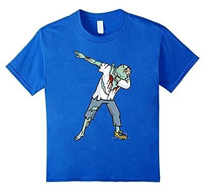 Funny Dabbing Zombie Halloween Dab T-Shirt | Halloween Tees
