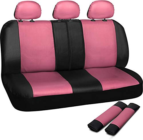 pink and black cover seat - 8