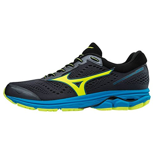 Mizuno Men's Wave Rider 22 Low-Top Sneakers Multicolour (O Blue/Syellow/Blue 001) sale real brand new unisex sale online sYHJzn
