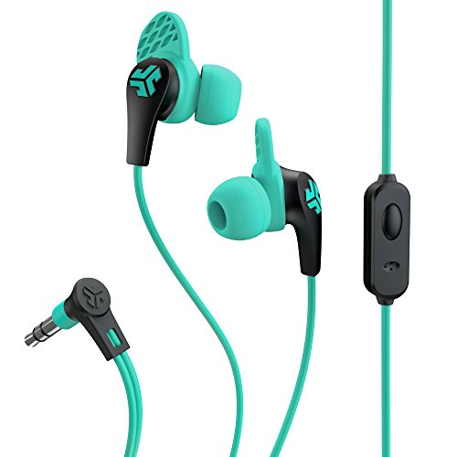 JLab Audio JBudsPRO Premium in-ear Earbuds with Mic, Guaranteed Fit, GUARANTEED FOR LIFE  - Teal