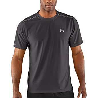 Under Armour Coldblack Short Sleeve Tee - Men's Charcoal 3X-Large