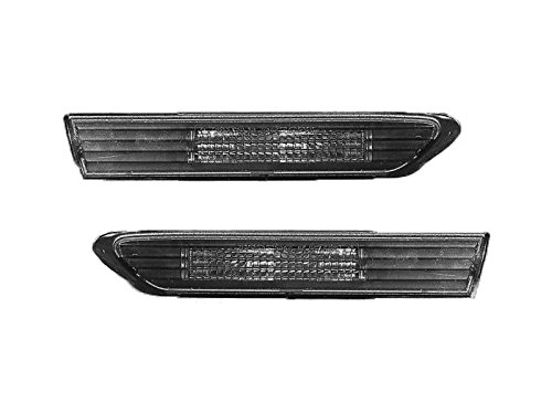 Replacement For Acura Tl 04 05 06 07 08 Front Smoke LED Side Marker Light Set Pair Left Right