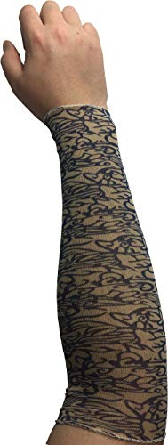 Mens Womens Witch Warlock Costume Arm Sleeve Tattoo