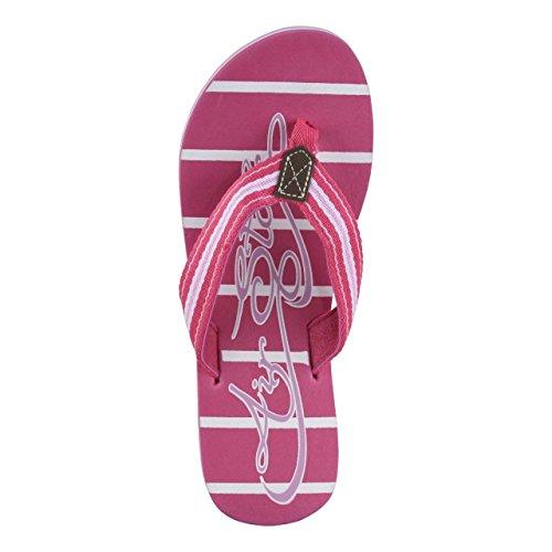 HSM Schuhmarketing - Sandalias de Material Sintético para mujer rosa rosa Rosa
