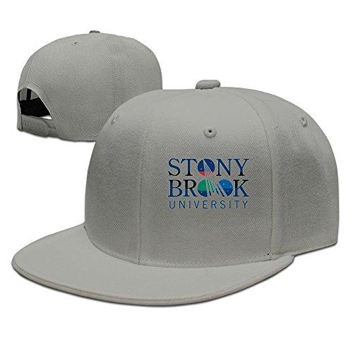 [SSEE Unisex-Adult Stony Brook University Snapback Baseball Hats Caps Ash] (Mens Dallas Cowboy Football Costumes)