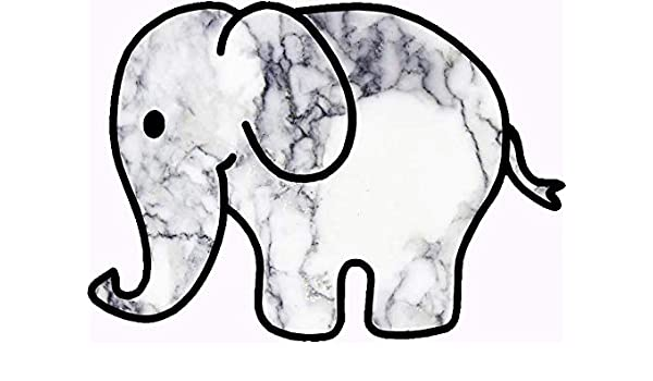 Marble Elephant Funny Vinyl Edwin Group of Companies Marble Elephant Car Decal Size 4 Motorcycle Sticker Banner