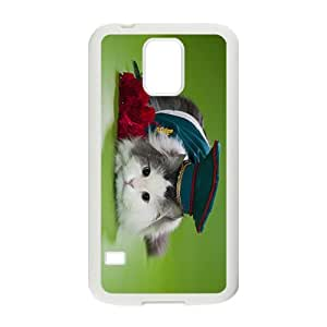Cat Droitsof Admiralty Hight Quality Plastic Case for Samsung Galaxy S5