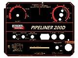 Lincoln Electric Arc Welder Pipeliner 200D Aluminum Control Plate,L-11952