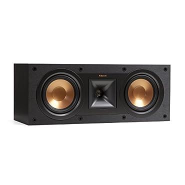 Klipsch Reference R-25C Center Channel Speaker (Black)