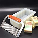Rectangular Silicone Loaf Soap Mold 39 oz with a Soap Cutter ~ US Seller