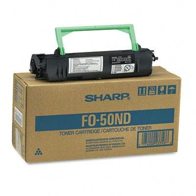 Sharp Fo50nd Fax Toner Developer Cartridge 6000 Page-Yield Black Professional-Looking