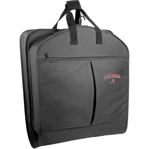 wallybags-alabama-crimson-tide-40-inch-suit-length-garment-bag-with-pockets-black-one-size