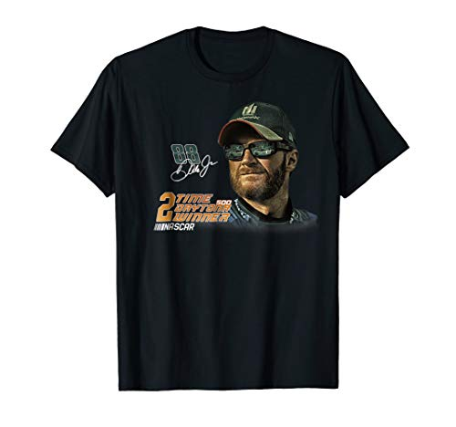 - Dale Earnhardt Jr. Dale Earnhardt Jr, 2-Time T-Shirt