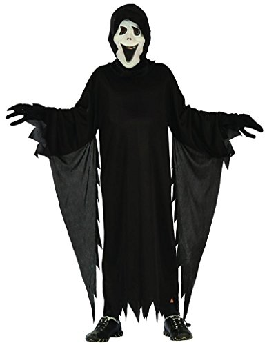 Demon Halloween Costumes (YOU LOOK UGLY TODAY Boy's Scary Demon Halloween Dress-up Costume, Quality Fabric, Washable & Durable-Large)