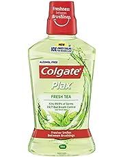 Colgate Plax Antibacterial Alcohol Free Bad Breath Control Mouthwash Fresh Tea 500mL