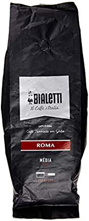 Café Torrado em Grão Roma Bialetti 500g