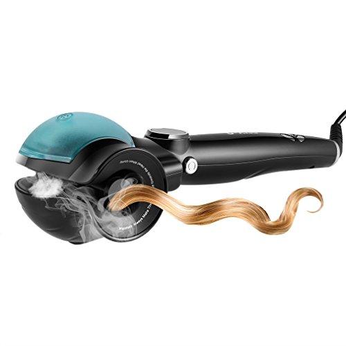 U-Kiss Ceramic Hair Curler Fast Heating Automatic Steam LED