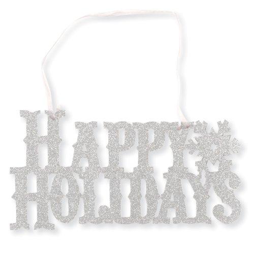 Happy Holidays Glitter Sign 6.5