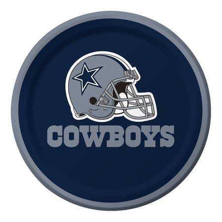 Creative Converting 419509 Dallas Cowboys 7 in. Lunch Plates - Case of 96