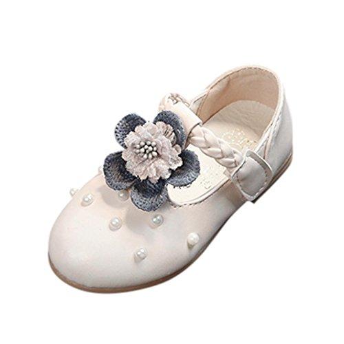 Casual Baby Sneaker Einzelne Pearl Prinzessin Clode® Weiß Kleinkind Schuhe Kinder Mode Floral 8gfnnwqdz