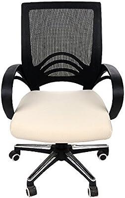 Homaxy Premium Jacquard Office Computer Chair Seat Cover Spandex Stretch Desk C