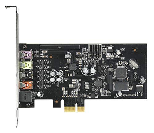 ASUS Xonar SE Interno 5.1 Canales PCI-E - Tarjeta de Sonido (5.1 Canales, 24 bit, 116 dB, 110 dB, 24-bit/192kHz, 0,00251%)