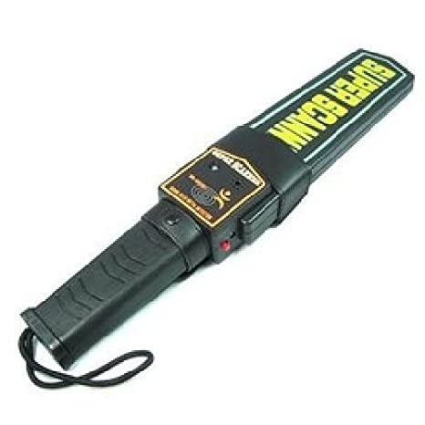 Agente007 - Detector De Metales De Mano Alta Sensibilidad 22Khz: Amazon.es: Bricolaje y herramientas