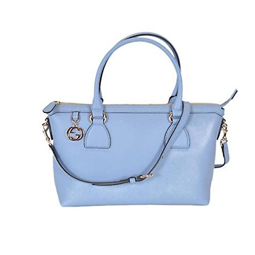 Blue Gucci Handbag - 9