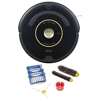 iRobot Roomba 650 Robotic Vacuum Cleaner (Vacuum + Replenishment Kit)