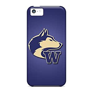 Perfect Fit TxQZVNV3722ZCYCf Washington Huskies Case For Iphone - 5c