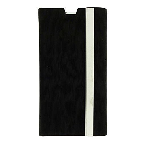 US-Trendsss PU Leather Envelope wallet Case with 2 Card Slots for Xperia Z1 Compact (Black)